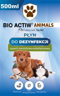 Bio actiw animals etykieta